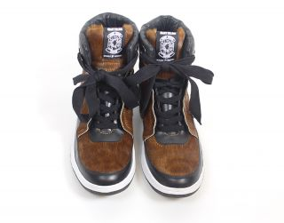 【GK HI SNEAKER】 COLOR: BROWN<br>PRICE: ¥34,000(+TAX)